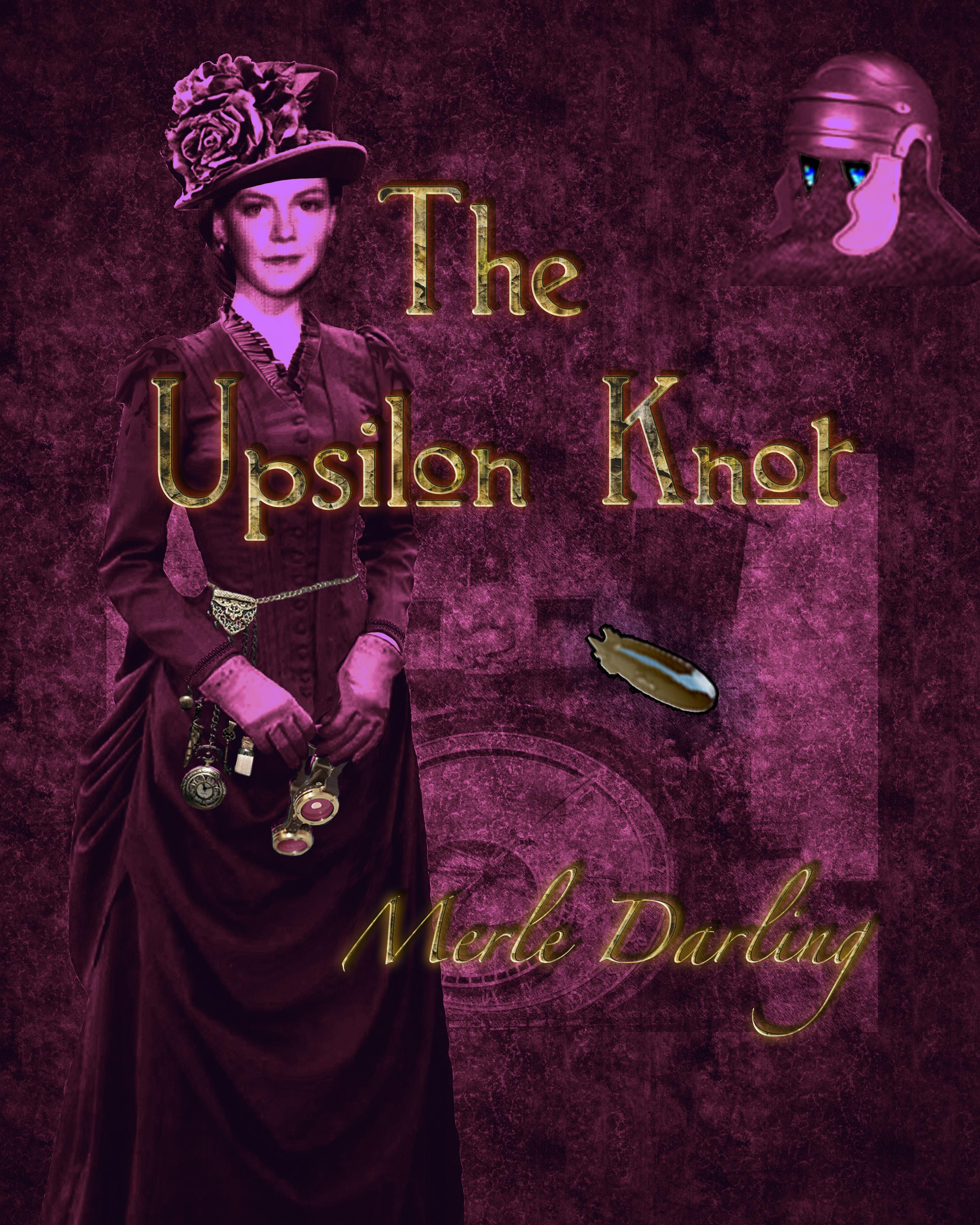 Bookcover - The Upsilon Knot